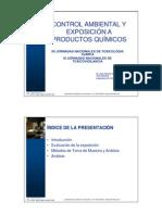 Control Exposicion a Productos Quimicos