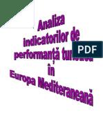 Analiza Indicatorilor de Performanta Turistica in Europa Mediteraneana.doc