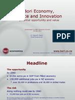 Ganesh Nana Presentation to Maori Economic Summit 050511