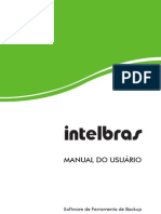 Manual Intelbras Ferramenta de Backup