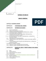 Indice Normas Tecnicas 2006 Para El Diseno Redes Electricas Urbanas y Rurales