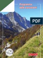 Amici della Montagna - Programma Escursioni 2009