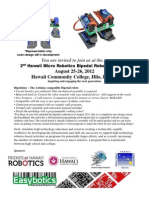 2012 Bipedal Robot Workshop