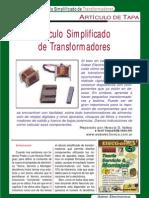 Calculo de Transformadores (Saber Electronica)