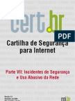 Incidentes de Seguranca e Uso Abusivo Da Rede