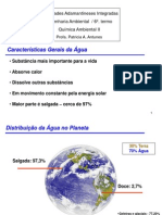 1Características Gerais da Água