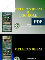 Melepas Helm-log Roll