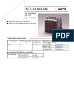 Controles Fases G3PB-Datasheet