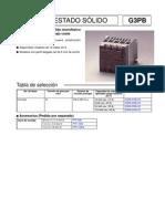 Controles Fases G3PB-Datasheet