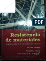 Resistencia de Materiales , Singer y Pytel
