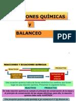 Ecuaciones Quimicas y Balance