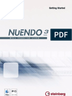 NUENDO Manual-Getting Started