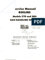Service Manual Roiline Model 570 and 884