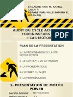 Audit Du Cycle Achats-fournisseurs