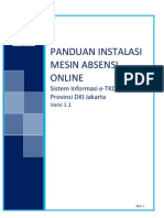Panduan Instalasi Absensi Online E-TKD v.1.1