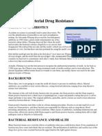 Bacterial Drug Resistance