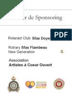 Dossier de Sponsoring - Diner Gala à Sfax