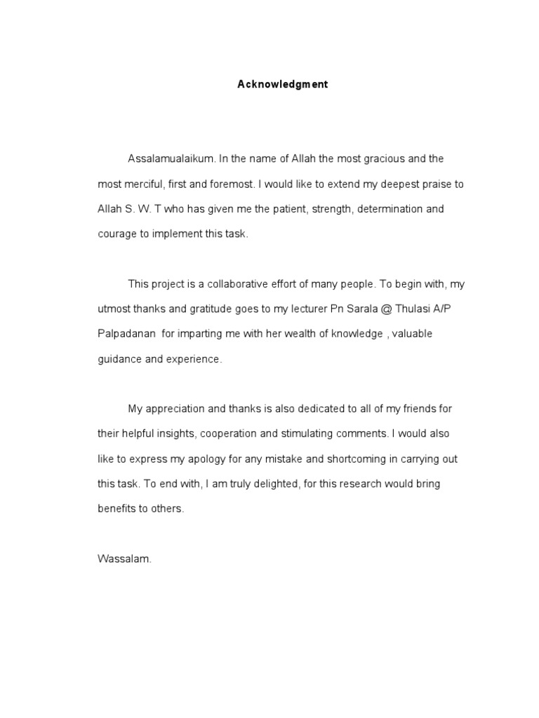 Acknowledgment Penghargaan English Psychological Concepts Psychology Cognitive Science