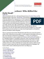 Obama vs. Boehner - Who Killed the Debt Deal_ - NYTimes2