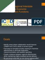 Aligning Regional Interstate Commerce Economic Development Functions