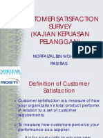 Customer Satisfaction Survey 2011