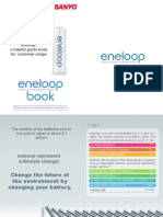 Sanyo Eneloop Guide Book for Customer Usage