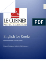 English for Cooks (Peru)