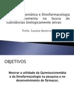 Quimiossistemática e Etnofarmacologia