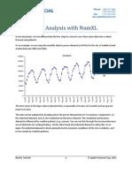 NumXL Cookbook - AirLine Model in Excel