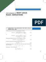 Root Locus Derivations