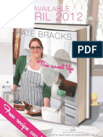Exclusive Recipe Card - The Sweet Life by Kate Bracks