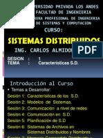 SISTEMAS DISTRIBUIDOS SESION1