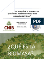 Biomasa Como Fuente de Energia