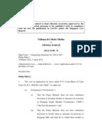 Vellama d/o Marie Muthu v Attorney-General [2012] SGHC 74