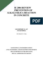 GEO_report_167 Alkali Silica Reaction in Concrete
