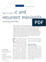 Recurrent Meningitis