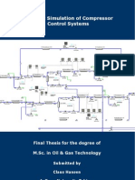 Dynamic Simulation of Compressor Control Systems