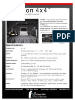 4x4 Product Specifications1008