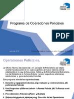 16.1 Operaciones.Policiales