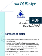 Hardness of Water