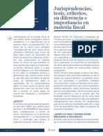 Jurisprudencia en Materia Fiscal