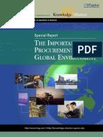 Procurement Management Report