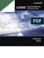 G1000 Diamond CockpitReferenceGuide DA42version0370.17orlater