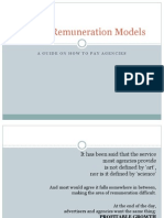 Agency Remuneration Models