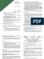 Instructivo para Llenar los Formularios VERAS