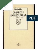 Aristoteles- Organon 1- Kategorileri