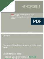 HEMOPOESIS