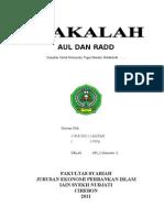 MAKALAH MAWARIS