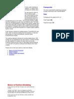 Pro e Surface Modeling