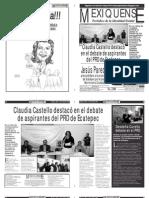Versión impresa del periódico El mexiquense 11abril 2012